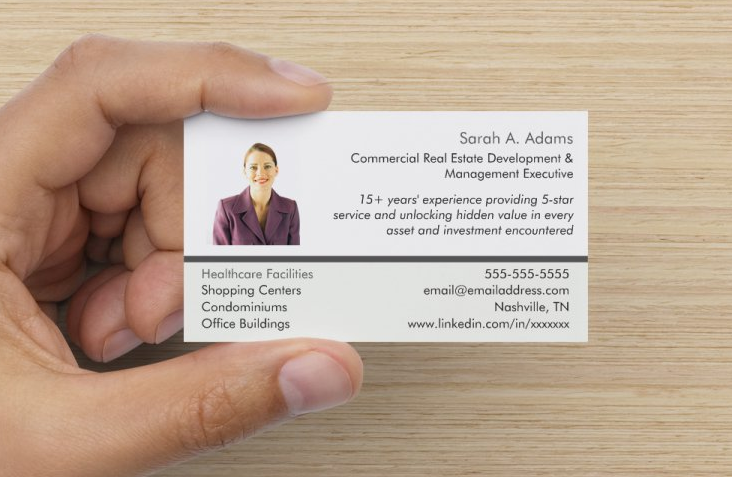 job search business cards