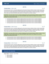 Amplify Resume Template