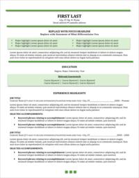 Emergencezen Resume Template