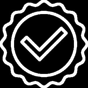 Maya Guarantee Badge White E1604254087169