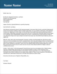 Ambitscape Cover Letter Template