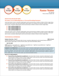 Morning Glory Resume Template Page 1