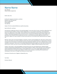 Power Play Cover Letter Template