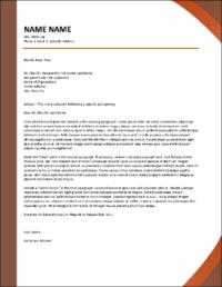 Fireside Cover Letter