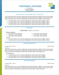 Frontier Entry Resume 1