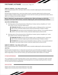 Bold Solutions Resume Page 2 1