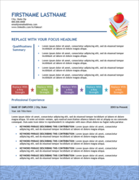 Elementary Education Edge Resume Page 1